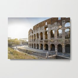 The Colosseum of Rome Metal Print