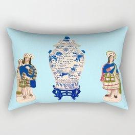 Tsochtkes and Ginger Jar Rectangular Pillow