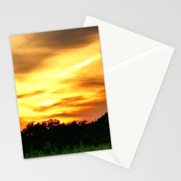 April East Texas Sunset Stationery Cards