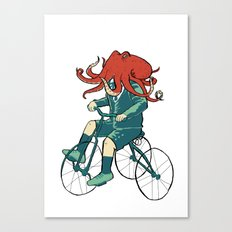 Little Cthulhu Canvas Print