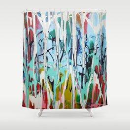 Paint Drip Shower Curtain