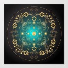 Circle Study No. 441 Canvas Print