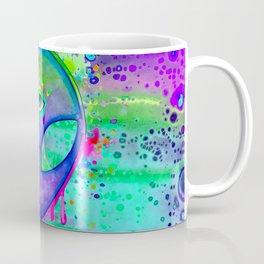 Alien Melt - purple Coffee Mug