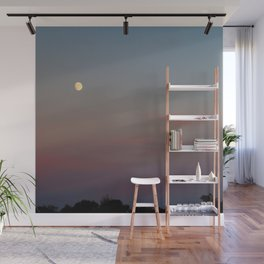 Moon Colors Wall Mural