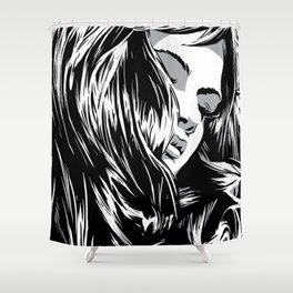 RZP Girl Shower Curtain