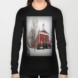 Iron County Courthouse in the Snow Long Sleeve T-shirt