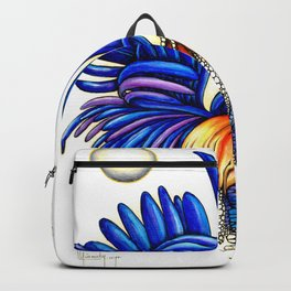 Gallo de las dos lunas Backpack