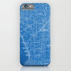 Los Angeles Street Map iPhone 6s Slim Case