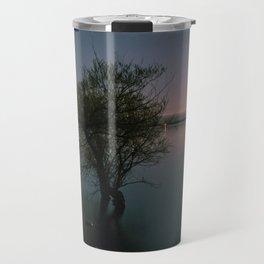 Moonrise over Sandbanks Travel Mug