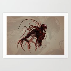 Twisted Art Print