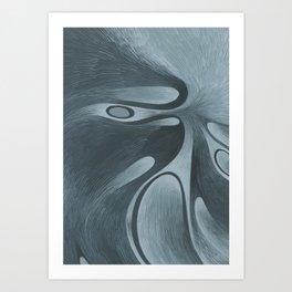 Cloud Eye Art Print
