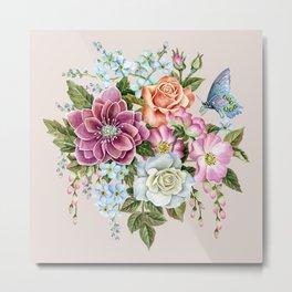 Watercolor Flowers #69 Metal Print