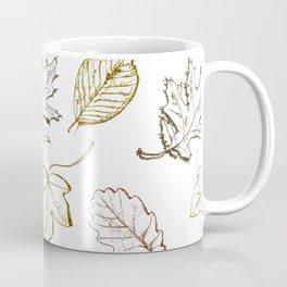 Leaves (browns) Coffee Mug