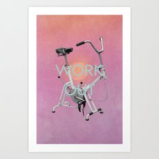 Work Out Art Print