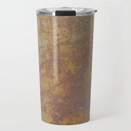 Rusted Metal Sheet Travel Mug