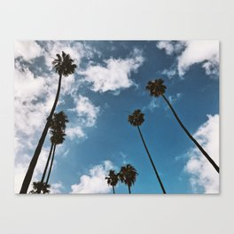 Somewhere in Mid Wilshire Canvas Print
