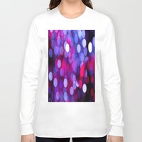 bokeh Long Sleeve T-shirts featuring Bokeh by Alyson Cornman Photography