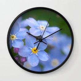 Flowers Izby Garden 4 Wall Clock
