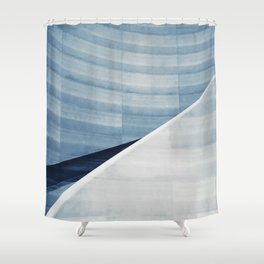 Geometric confusion #06 Shower Curtain