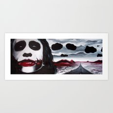 THE JOKER'S HIGHWAY Art Print