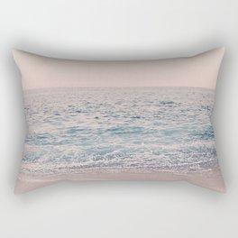 ROSEGOLD BEACH Rectangular Pillow