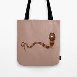Scarf Snake Monster Tote Bag