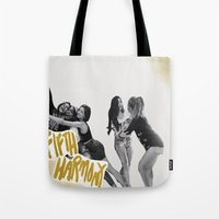 fifth harmony Tote Bags featuring Fifth Harmony by TSMM