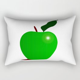 Nice Green Apple Rectangular Pillow