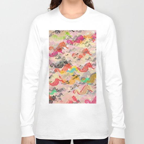 Seahorses Long Sleeve T-shirt