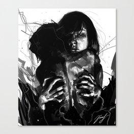 Absorption Canvas Print