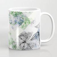 serenity Mugs featuring Serenity by La Scarlatte