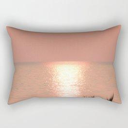 Wasaga Beach Sunset Rectangular Pillow