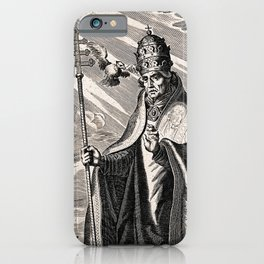 Saint Gregory the Great iPhone Case