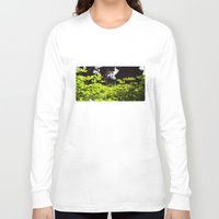 clover Long Sleeve T-shirts featuring Clover by Thomas Ray Publishing