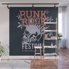 Punk Wall Mural