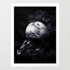 The Dark of the Moon Art Print