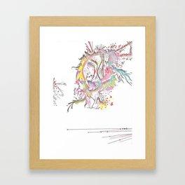 Abstract Beauty Framed Art Print
