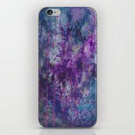 nocturnal bloom iPhone Skin