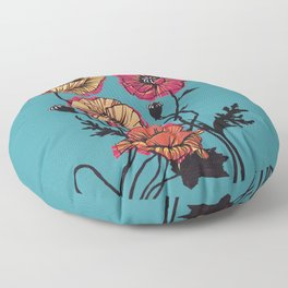 Pan Pride Flower Floor Pillow