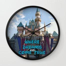 Disneyland Wall Clock