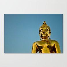Golden Buddha 2 Canvas Print