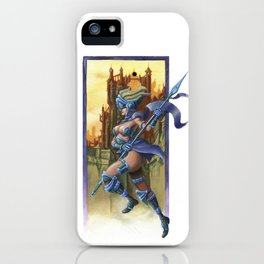Sky Warrior iPhone Case