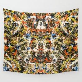 Reflecting Pollock 2 Wall Tapestry