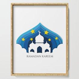 Ramadan Kareem Serving Tray
