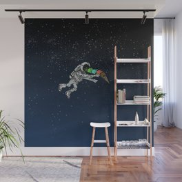 Spacetime Sadness Wall Mural