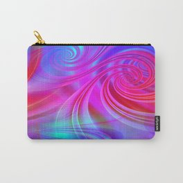 Infinite Loop (blue-magenta) Carry-All Pouch