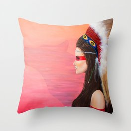 Always Looking Forward Throw Pillow