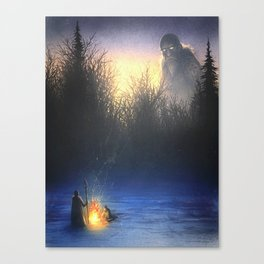 Snow Giant Canvas Print