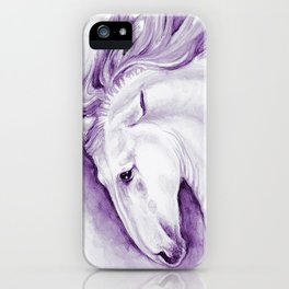 Purple Andalusian iPhone Case