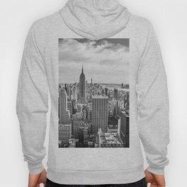 New York City Cityscape (Black and White) Hoody